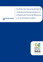 Conflictos de intercambiabilidad de medicamentos biotecnológicos en el Sistema de Precios de Referencia y en la contratación pública