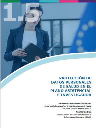 1.5. PROTECCION DE DATOS DE SALUD. Fernando Abellan - Ana Garcia