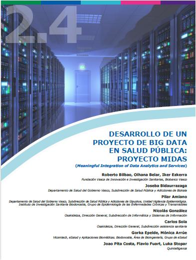 2.4. PROYECTO BIG DATA EN SALUD PUBLICA. FVIIS, Bionbanco Vasco
